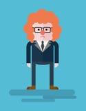 Businessman_sad_clown Stock Images