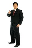 Businessman say good. Stock Photo