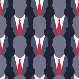 Businessman - seamless pattern Stock Images
