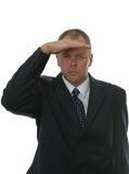 Businessman Searching. Royalty Free Stock Image