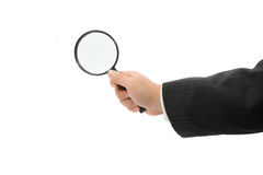 Businessman Searching Stock Image