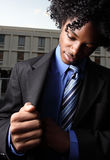 Businessman searching Stock Images