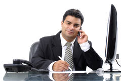 Businessman Series Stock Photo