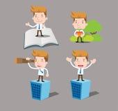 Businessman series - future set Stock Photos