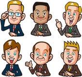 Businessman set Stock Image