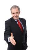 Businessman shaking hand royalty free stock photo