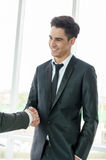 Businessman shaking hand Stock Photos