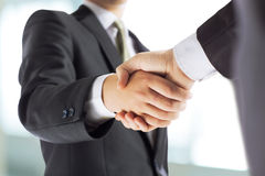 businessman shaking hands Royalty Free Stock Image