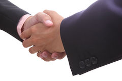 Businessman shaking hands Royalty Free Stock Photography