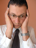 Businessman Shocked Stock Images