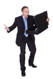 Businessman Shocked By Losing Money Royalty Free Stock Images