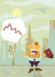 A businessman shocked Stock Image