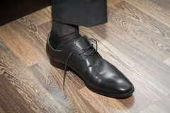 Businessman shoe Royalty Free Stock Images