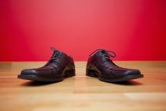 Businessman shoes Stock Images