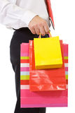 Businessman shopping Royalty Free Stock Images