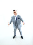 Businessman showing OK sign Royalty Free Stock Photo
