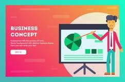 Business concept. Vector illustration. stock illustration