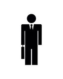 Businessman Silhouette Stock Photography