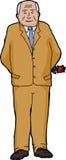 Businessman with Single Rose Stock Photos