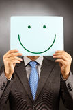 Businessman with a smile Stock Images