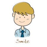 Businessman smiles Royalty Free Stock Photography
