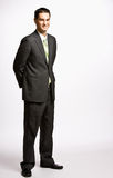 Businessman smiling Royalty Free Stock Image