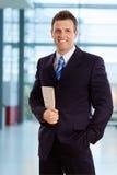 businessman smiling Στοκ Φωτογραφίες