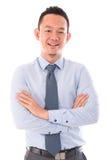Businessman smiling Stock Images