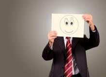 Businessman smiling Stock Photos
