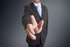 Businessman solution concept Stock Image