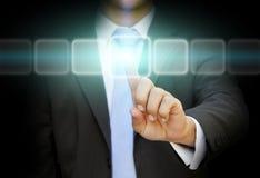Businessman solution concept Stock Photo