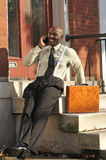 Businessman Speaking on Phone Royalty Free Stock Photo