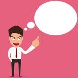 Businessman Speech bubble Stock Images