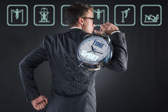 The businessman in sport business concept Royalty Free Stock Photography