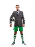 Businessman in sportwear Stock Photography