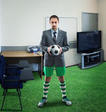 Businessman in sportwear Stock Photo