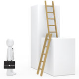 Businessman stairs Royalty Free Stock Image
