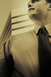 Businessman Standing Royalty Free Stock Photos