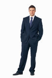Businessman Standing. Royalty Free Stock Images
