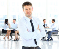 Businessman standing Stock Photography