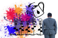 Businessman standing Royalty Free Stock Photography