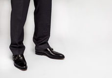 Businessman standing on the floor Royalty Free Stock Photo