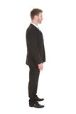 Businessman Standing Isolated Over White Background Stock Images