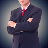 Businessman standing Royalty Free Stock Image