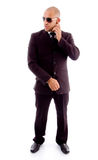 Businessman in standing pose Stock Photography
