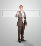 Businessman standing Stock Photos