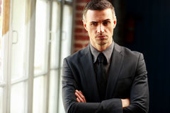 Businessman standing Royalty Free Stock Photo