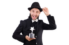 Businessman with star award Royalty Free Stock Photo