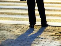 Businessman on the street Stock Image