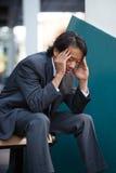 Businessman Stress Royalty Free Stock Photography